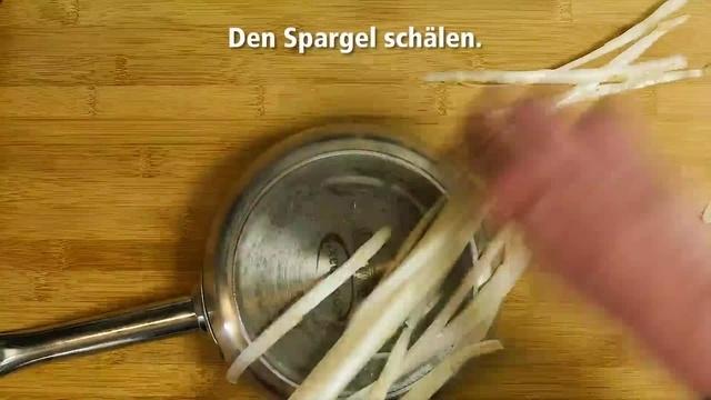 Frisch vom Markt mit Ralph Schüller: Roher Spargel? Aber sicher!