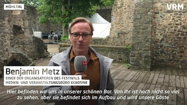 Frankenstein Kulturfestival im Aufbau