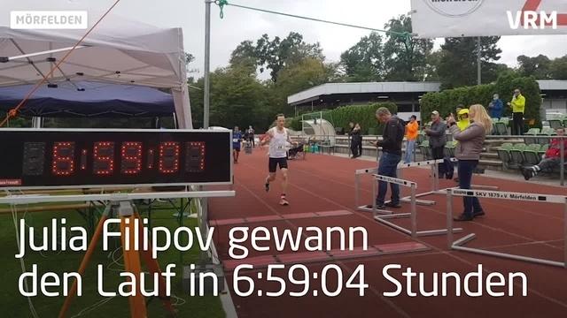 """""""Merfeller 100"""", ein 100-Kilometer-Lauf im Leichtathlet"""