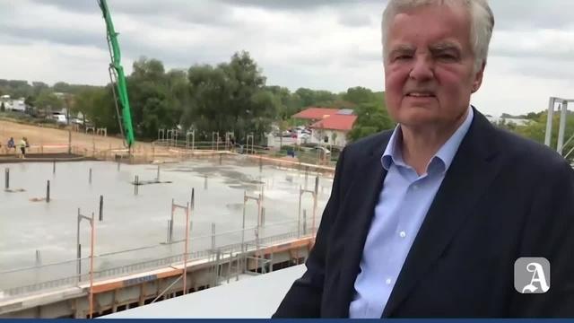Erweiterungsbau von IC-Haus in Bodenheim