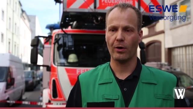 Wiesbaden: Brand in der Helenenstraße