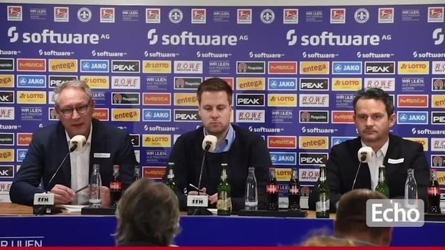 SV Darmstadt 98: Pressekonferenz mit neuem Trainer Dirk Schuster