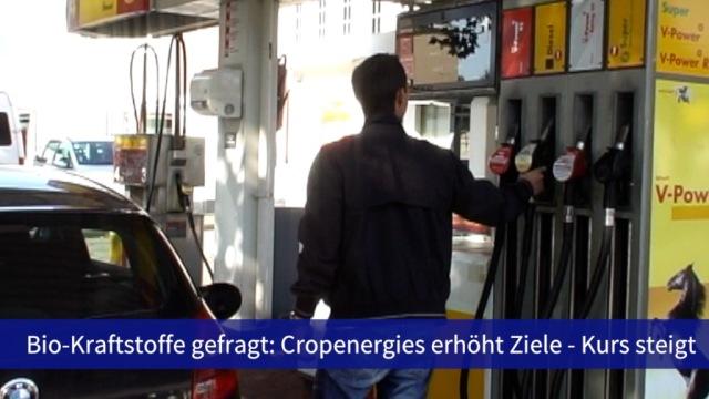 Aktie im Fokus: Biokraftstoffe gefragt - Cropenergies klettern