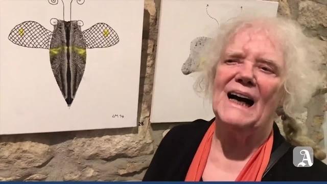 Essenheim: Liesel Mettens Schmetterlinge