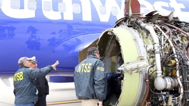 Passagierin stirbt nach Triebwerks-Explosion