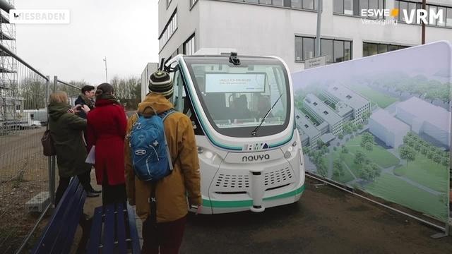 """Eswe testet autonomes Fahren mit Kleinbus """"Wilma"""""""