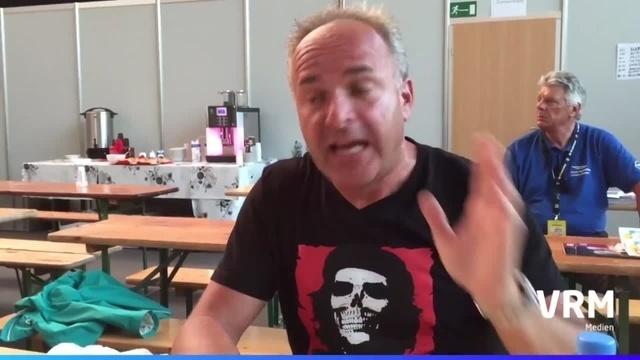 Tim Toupet im Interview kurz vor seinem Auftritt auf dem Hessentag in Rüsselsheim