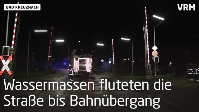 Bad Kreuznach: Wasserrohrbruch in der Rheingrafenstraße