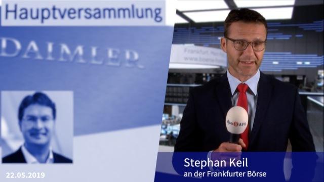Stabübergabe bei Daimler mit reichlich Hausaufgaben für den neuen Chef