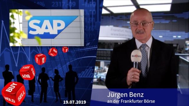 Analyser to go: Abstufungen nach enttäuschenden SAP-Zahlen