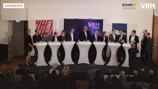 Der Wiesbadener Kurier hat zum Wahlforum geladen