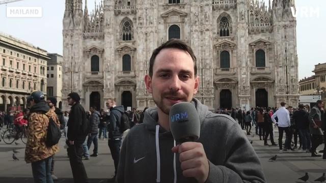Frankfurter Eintracht bei Inter Mailand