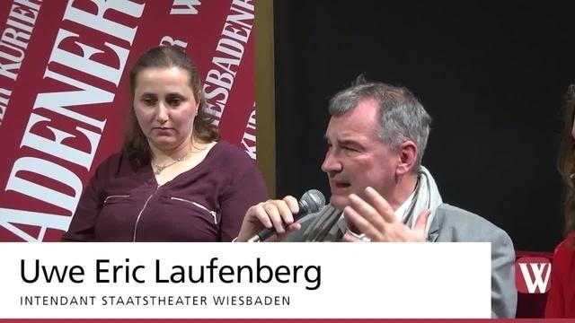 Wiesbaden: Auftakt von Talk im Foyer