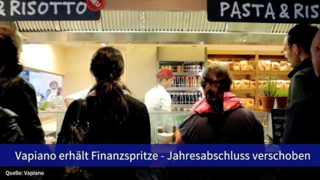 Aktie im Fokus: Vapiano erhält Finanzspritze - Vorlage Jahresabschluss verschoben