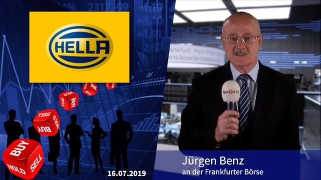 Analyser to go: Kursziel für Autozulieferer Hella gesenkt