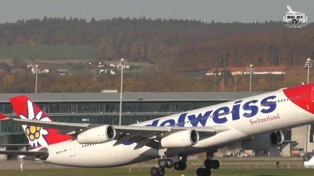Planespotting in Zürich-Kloten