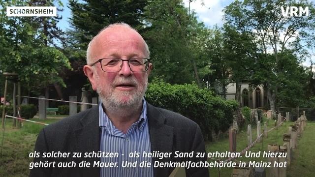Schornsheim: Streit um Mauer am jüdischen Friedhof