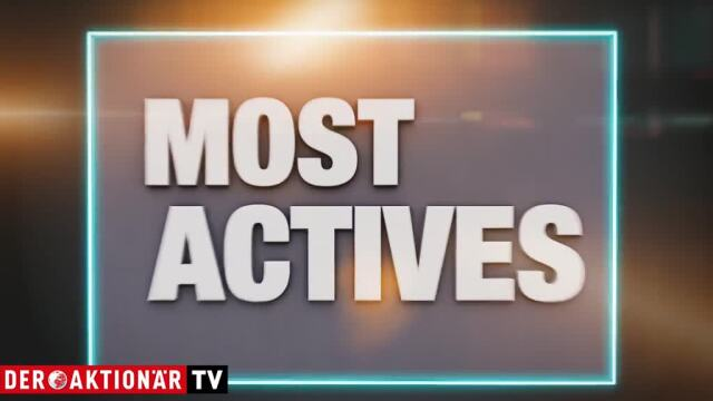 Most Actives: Infineon, Commerzbank, BASF