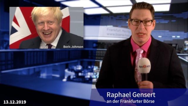 Johnson offenbar alter und neuer Premierminister in Großbritannien, Märkte im Plus