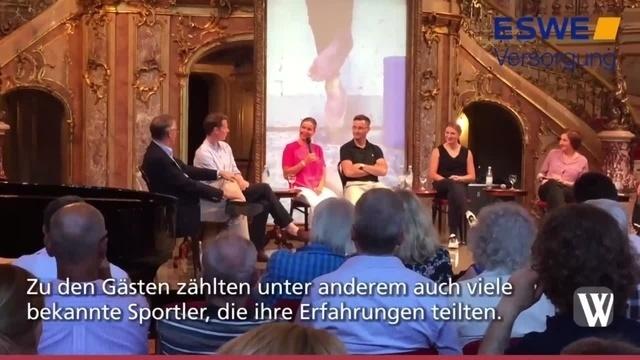 Talk im Foyer: Es lebe der Sport