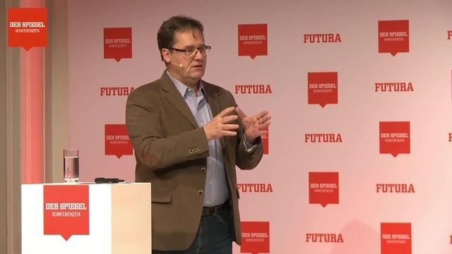 Michael Halbherr auf der FUTURA 2018