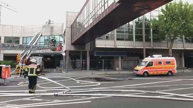 Brand der Mainzer Rheingoldhalle: Update 7.46 Uhr