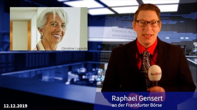 Christine Lagarde hält erste EZB-Sitzung, Spannung vor der UK-Wahl