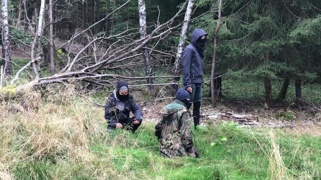 Lautstarke Proteste im Herrenwald