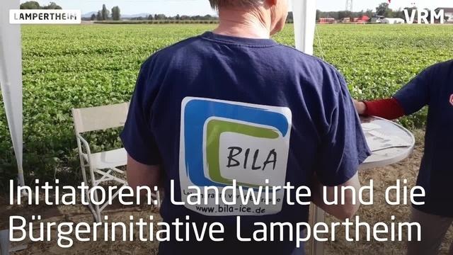 Demo in Lampertheim gegen geplante ICE-Neubautrasse
