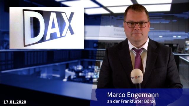 Dax schafft es ins Wochenplus