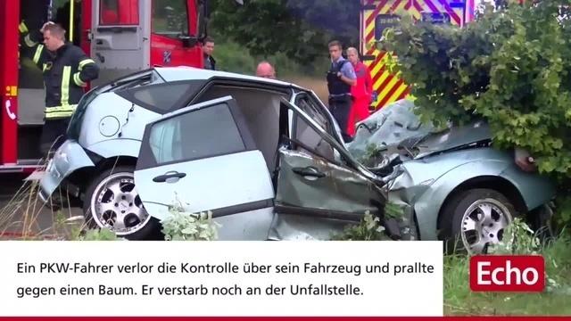 Tödlicher Unfall bei Gernsheim