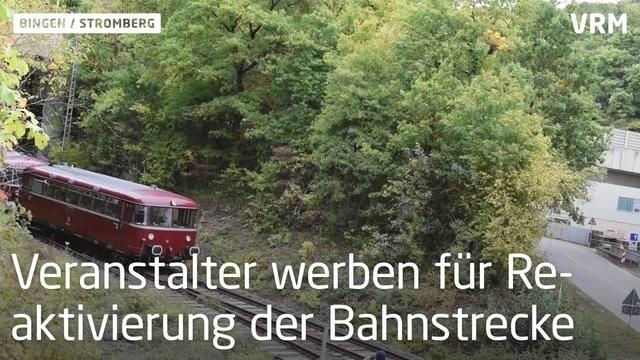 Von Bingen nach Stromberg: Fahrt mit der Hunsrückbahn