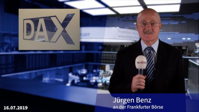 Mühsamer Anstieg beim Dax - Rekorde beim Dow