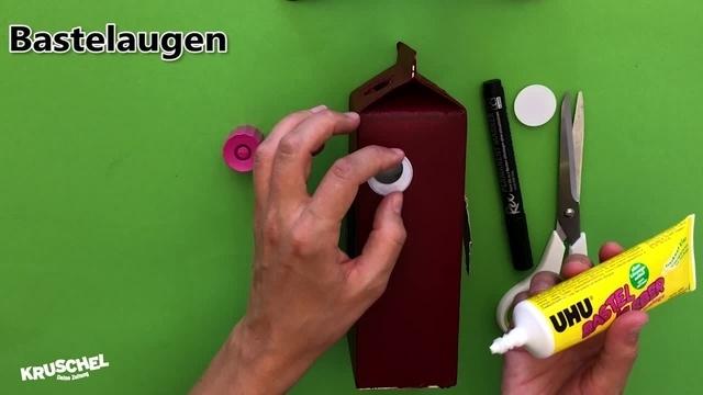 Mach mit: Vogelhaus aus Milchtüten