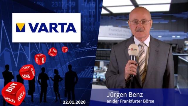 Analyser to go: Daumen über Varta gesenkt