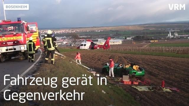Schwerer Verkehrsunfall auf der B428