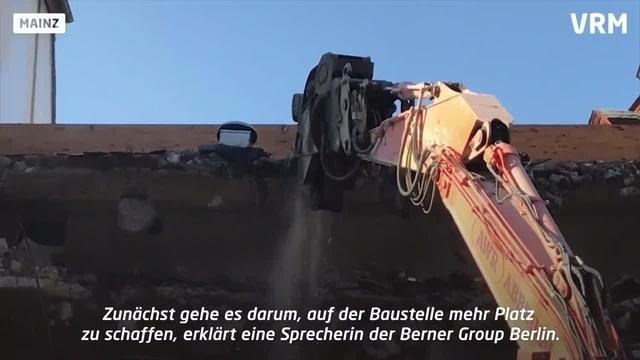 Mainz: Abrissarbeiten am Eltzer Hof haben begonnen