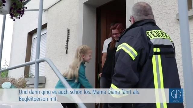 Erster Geburtstagsexpress der Feuerwehr Biebertal