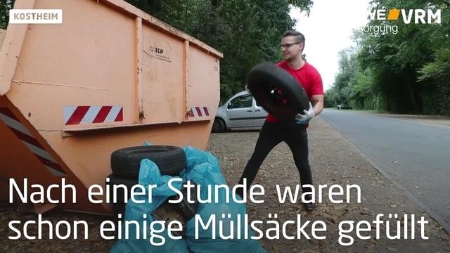 Rhine Cleanup: Schon einen Tag vorher unterwegs