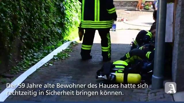 Trechtingshausen: Brand in der Ringstraße