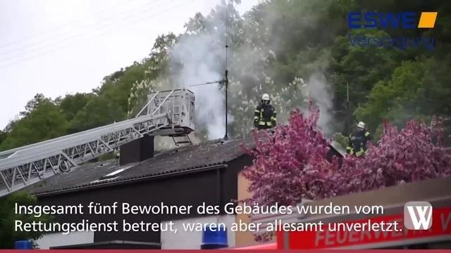 Wohnungsbrand in Wiesbaden-Rambach