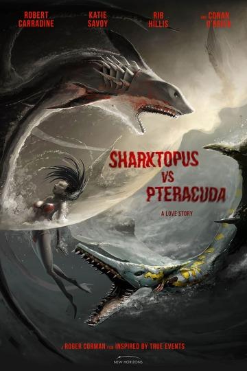 Sharktopus vs. Pteracuda - Kampf der Urzeitgiganten