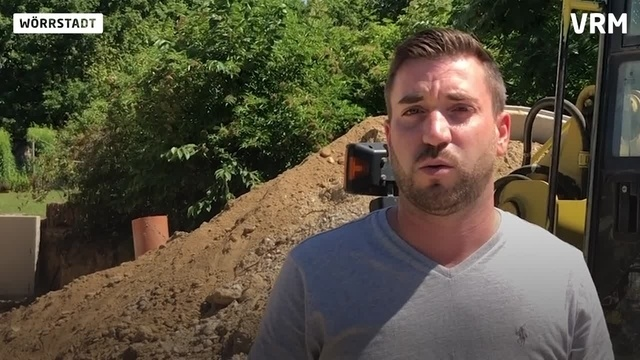 Radlader von Baustelle in Wörrstadt gestohlen