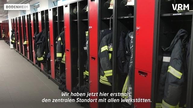 Neues Feuerwehrhaus für Bodenheim und Nackenheim
