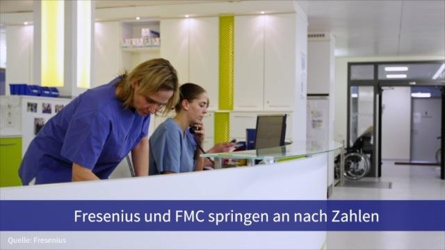 Aktien im Fokus: Fresenius und FMC springen an nach Zahlen