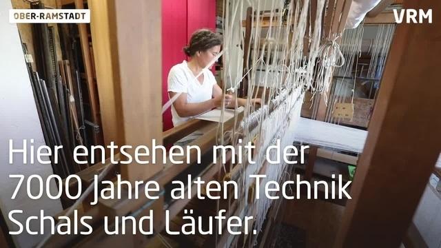 Anja Ritter beherrscht das Handwerk des Handwebens