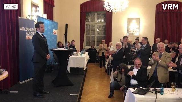 Nino Haase ist jetzt OB-Kandidat der Mainzer CDU